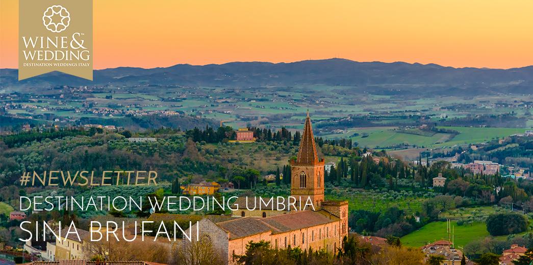 #Newsletter   Destination Wedding at Sina Brufani, Umbria