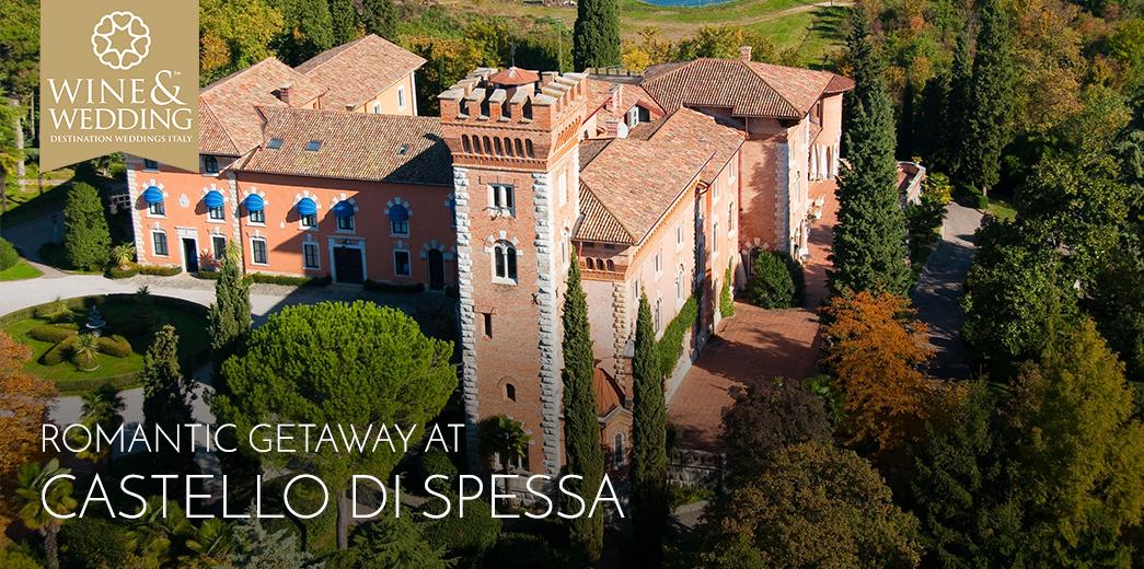 Fuga romantica al Castello di Spessa