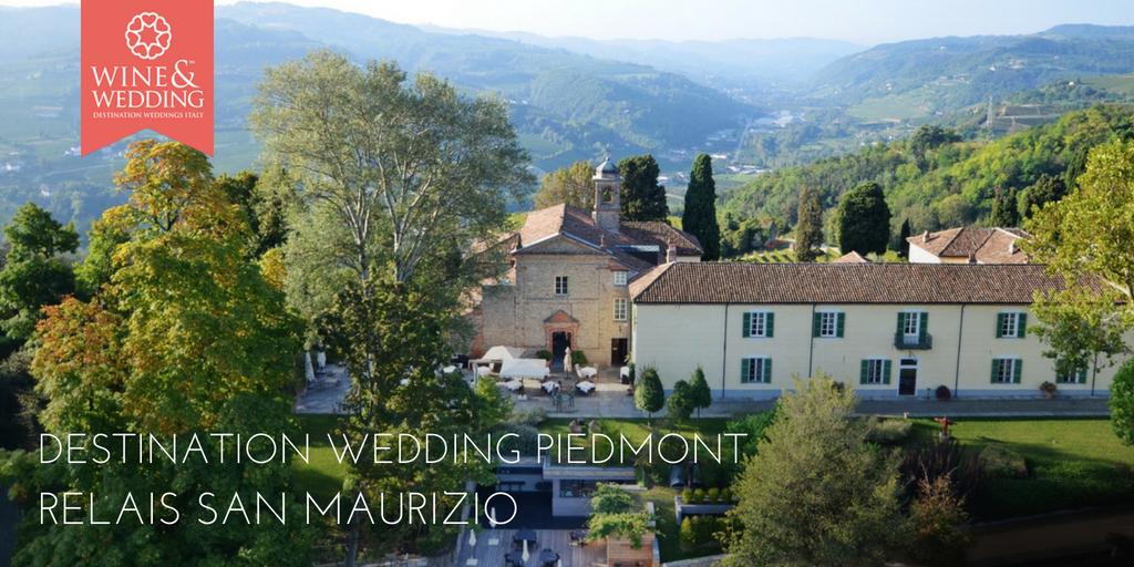 Destination Wedding Relais San Maurizio, Piemonte
