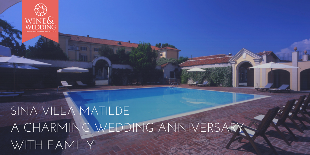 Sina Villa Matilde – A charming wedding anniversary with family
