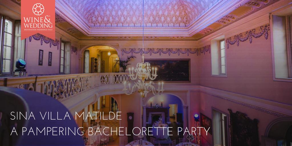 Sina Villa Matilde – Un aristocratico addio al nubilato alla spa