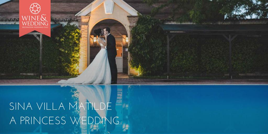Sina Villa Matilde – un matrimonio da principessa