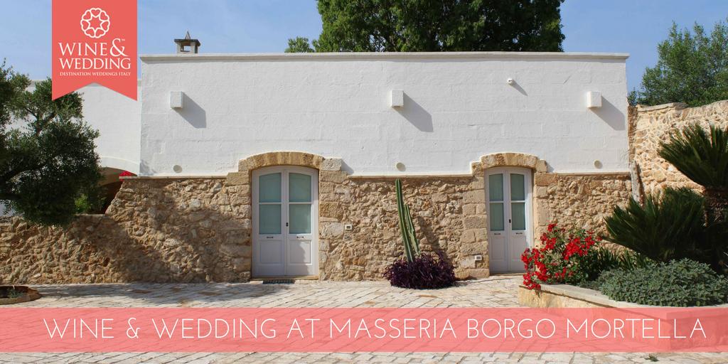 Wine&Wedding in Masseria Borgo Mortella – Il fascino autentico della Puglia tra gli ulivi secolari