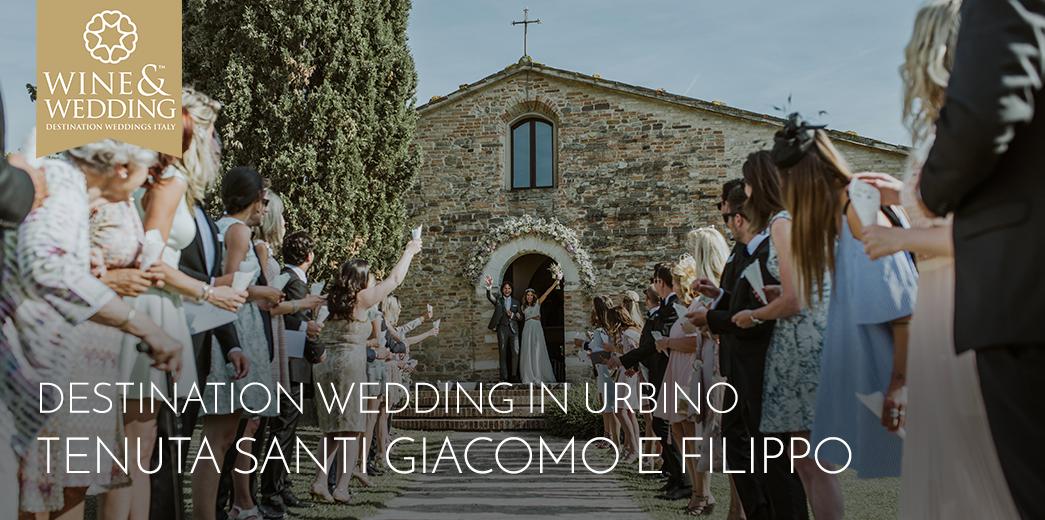 Destination Wedding at Tenuta Santi Giacomo e Filippo, Marche