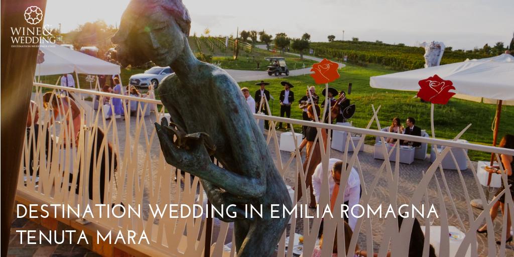 Destination Wedding Tenuta Mara, Emilia Romagna