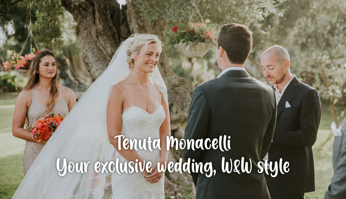 Tenuta Monacelli: your exclusive wedding, Wine & Wedding style