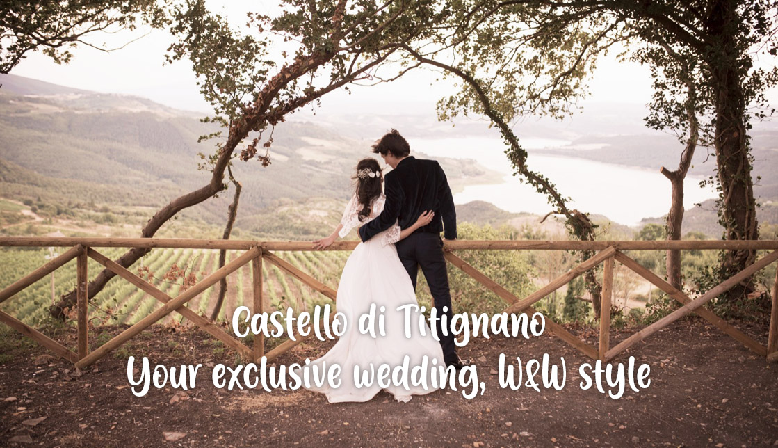 (English) Castello di Titignano: your exclusive wedding, Wine & Wedding style