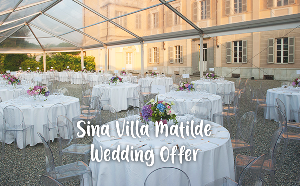 Sina Villa Matilde (Piemonte) – Special Wedding Offer